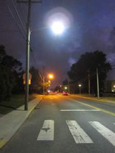 Street Lights at Dusk
