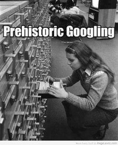 Prehistoric Googling